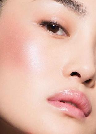 Румяна dior rouge blush shimmer 601 gologlam shimmer тестер6 фото