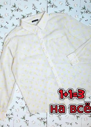 🎁1+1=3 фирменная нежная серая блуза в горошек amisu, размер 50 - 52