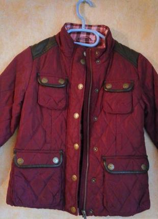 Куртка next на 7-8 лет
