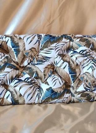Подушка сидушка на банкетку,обувницу 100*35 см