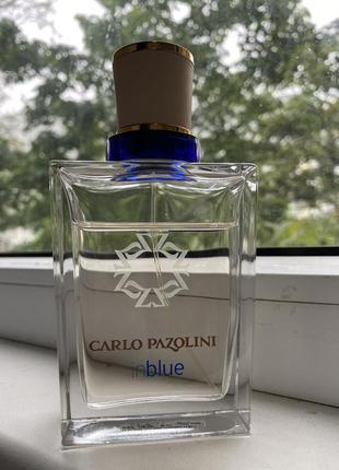 Туалетная вода carlo pazolini in blue 100 мл