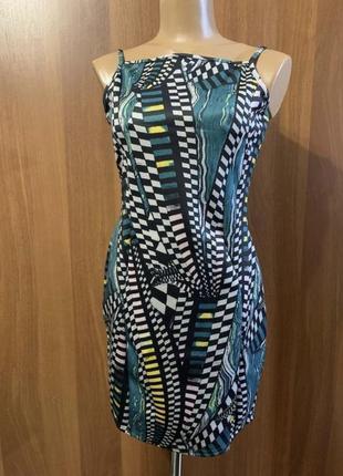 Платье сарафан абстракция