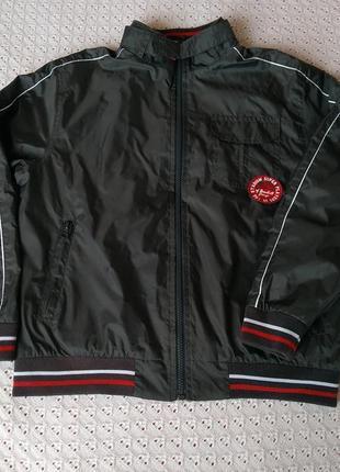 Куртка ветровка для мальчика курточка демисезонная деми вітрівка