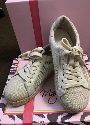 Замшевые кеды туфли на шнуровке сетка плетёная подошва