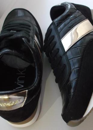 Кеды кроссовки calvin klein tea sneakers сникерсы кельвин кляйн3 фото
