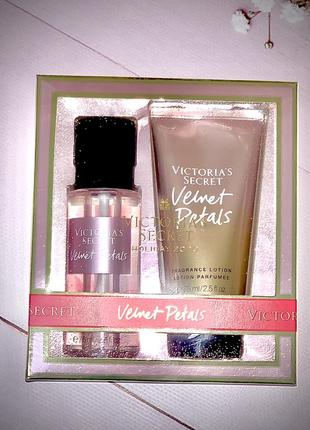 Подарочный набор, лосьон, спрей victoria's secret