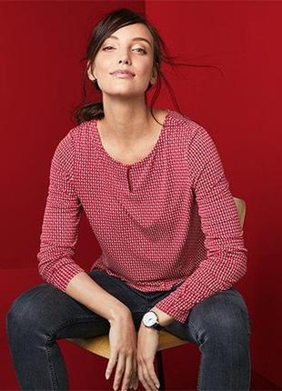 Стильная красивая блуза, блузка из вискозы от tcm tchibo (чибо), германия, s-m
