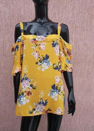 Вискозная блуза майка батал dorothy perkins uk 18