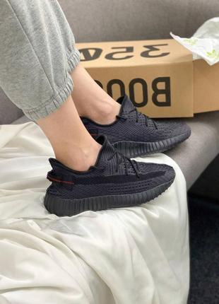Кроссовки adidas yeezy boots 350 black