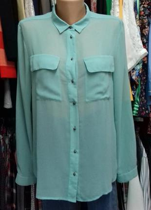 Блуза оверсайз,  з карманами.