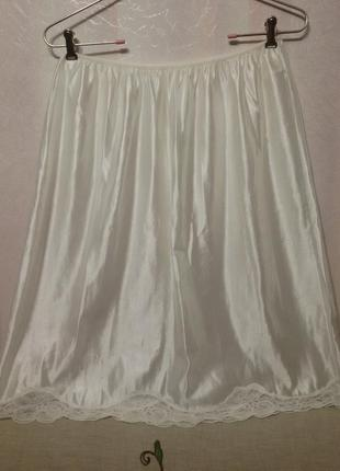 Подъюбник юбка комбинация (пот 34-58 см)