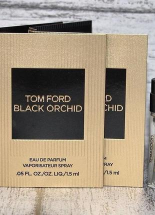 Tom ford black orchid пробник парфюма оригинал1 фото