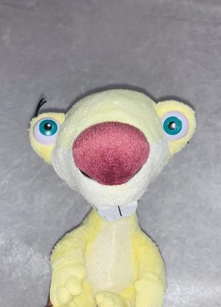 Мягкая игрушка ленивец сид ice age