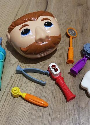 Набір для ліплення hasbro play-doh містер зубастик, сша, оригінал / мистер зубастик