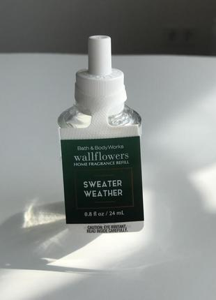 "Ароматизатор для дома bath & body works ""sweater weather"", оригинал"