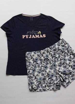 Esmara. пижама, домашний костюм l - xl размер. вискоза.