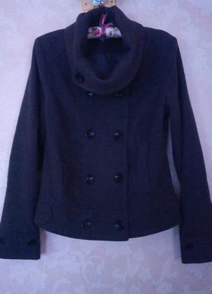 Классическое пальто от pimkie basic./ l разм.