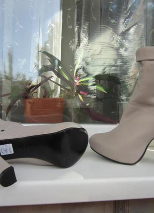 Ботинки fornarina, италия, кожа,40 р-р