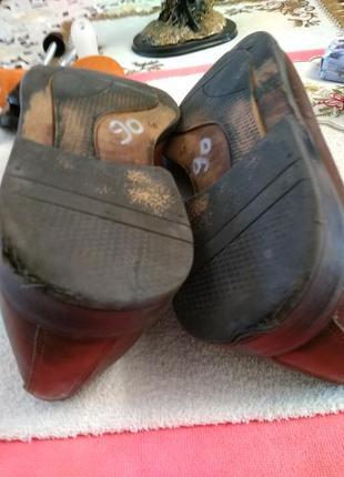 Туфлі шкіряні.6 фото