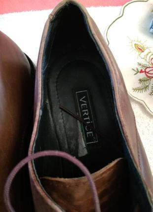 Туфлі шкіряні.4 фото