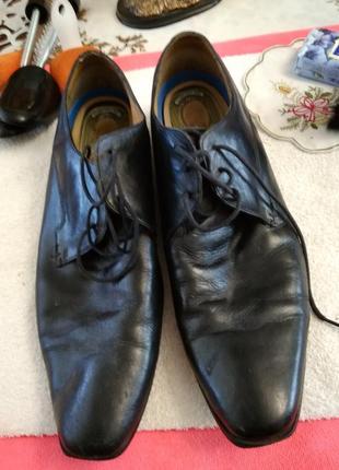 Туфлі шкіряні.2 фото