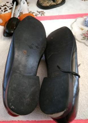 Туфлі шкіряні.7 фото