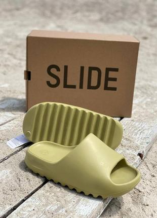 Женские тапочки yeezy slide resin