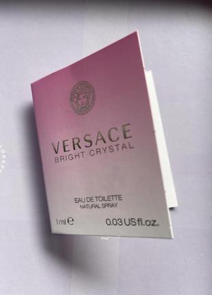 Versace/bright crystal/пробник парфумів/туалетна вода/фруктовий парфум