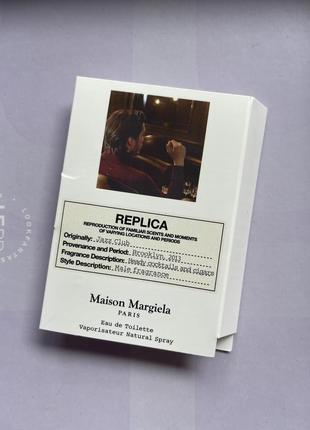 Replica/maison margiela/jazz club/пробник парфумів/нішева парфумерія