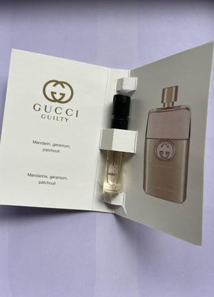Gucci guilti/ пробник парфумів/елітна парфумерія/жіночий парфум2 фото