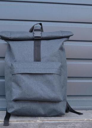 Рюкзак роллтоп ролтоп / roll top / карман для ноутбука / мужской женский