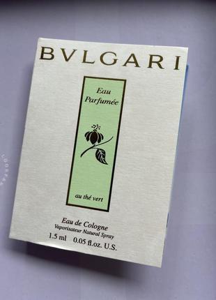 Bvlgari/пробник парфумів/одеколон/літній парфум/унісекс духи
