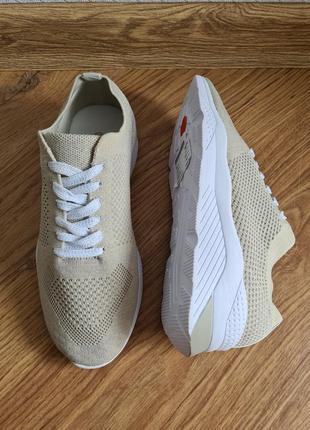 Летние легкие кросовки promod 39 р 24.5 см