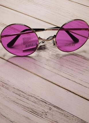 Солнцезащитные очки круглые женские