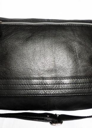 Cтильная обьемная сумка натуральная кожа для мужчин borelli