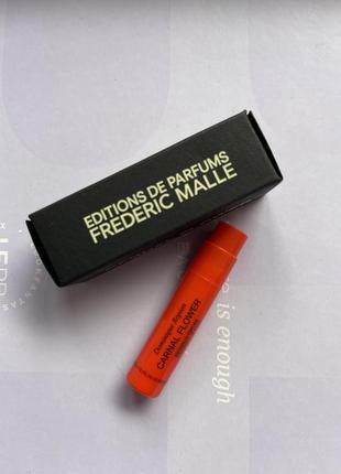 Frederic malle/carnal flower/пробник парфумів/нішева парфумерія/квітковий парфум1 фото