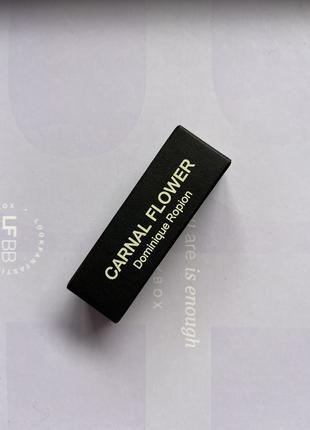 Frederic malle/carnal flower/пробник парфумів/нішева парфумерія/квітковий парфум2 фото