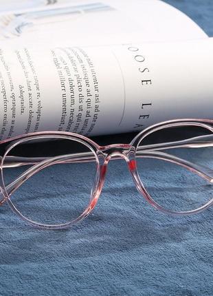 Очки окуляри имидж имиджевые унисекс прозрачная оправа новые