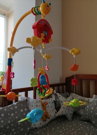 Мобиль карусель в детскую кроватку