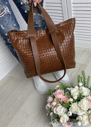 Женская сумка большая,вместительная,шопер, плечевая ручка