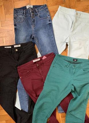 Джинсы брюки детские подростковые женские