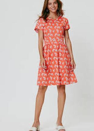 Очень красивое летнее красное платье