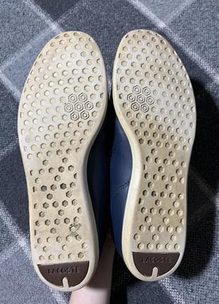 Мужские кожаные туфли lacoste9 фото
