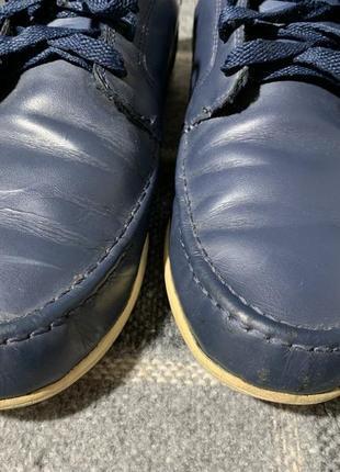 Мужские кожаные туфли lacoste3 фото