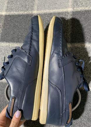 Мужские кожаные туфли lacoste5 фото