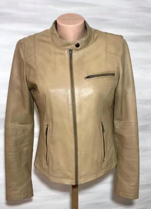Куртка, кожа naf naf, франция