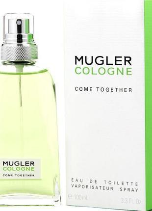 Туалетная вода унисекс mugler