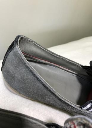 Замшевые туфли серые мужские туфлі мокасини 417 фото