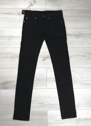 Чёрные стрейчевые джинсы cheap monday новые зауженные оригинал