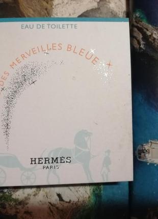 Hermes eav des merveilles bleue